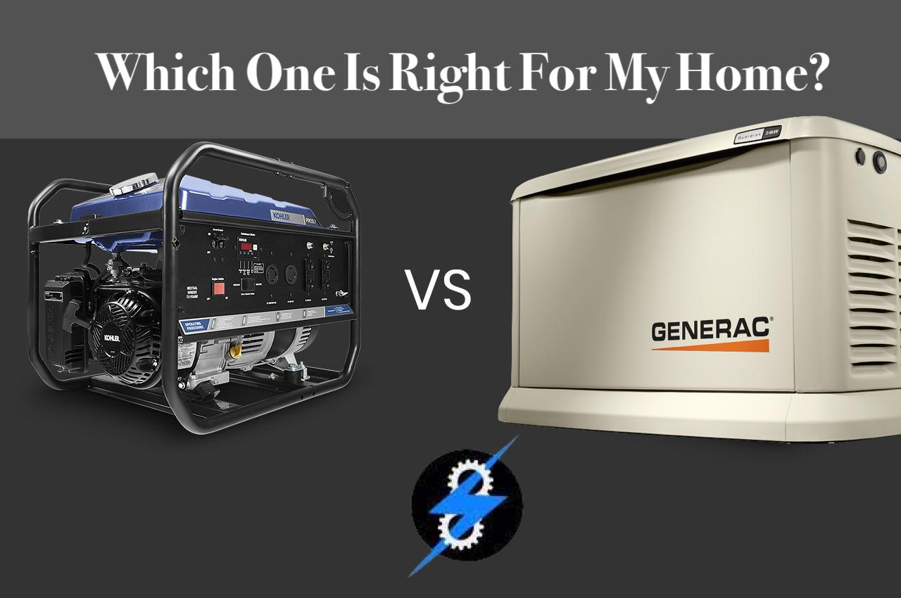 Standby Generators vs. Portable: Which One Is Right For My Home?