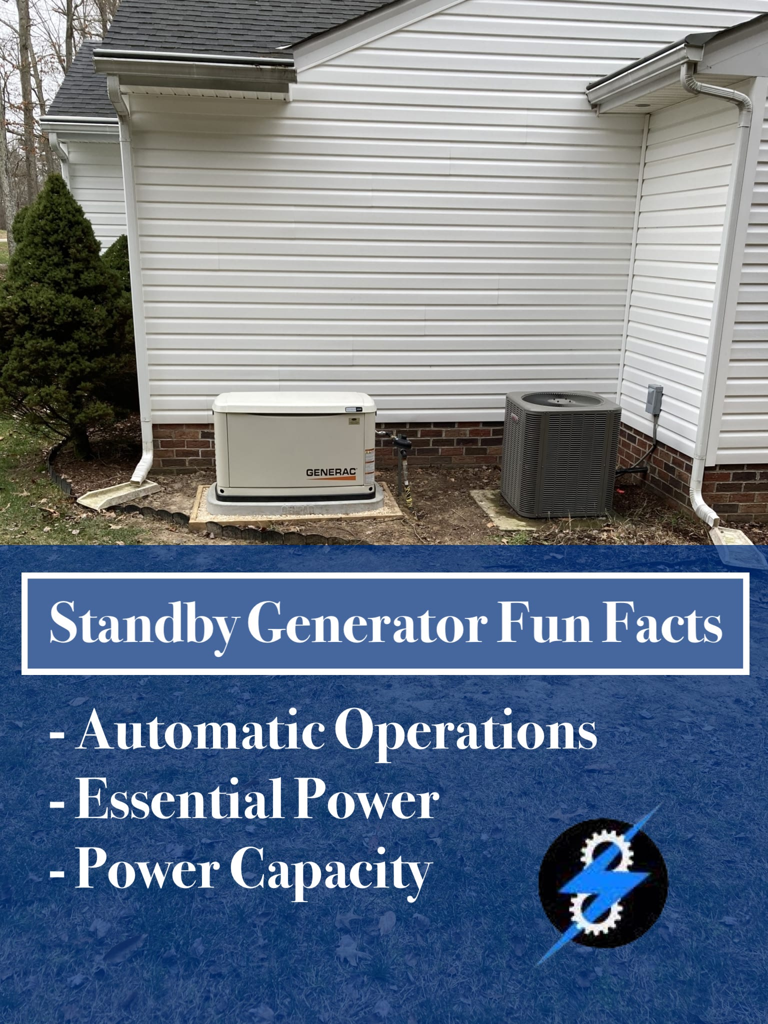 standby generator fun facts