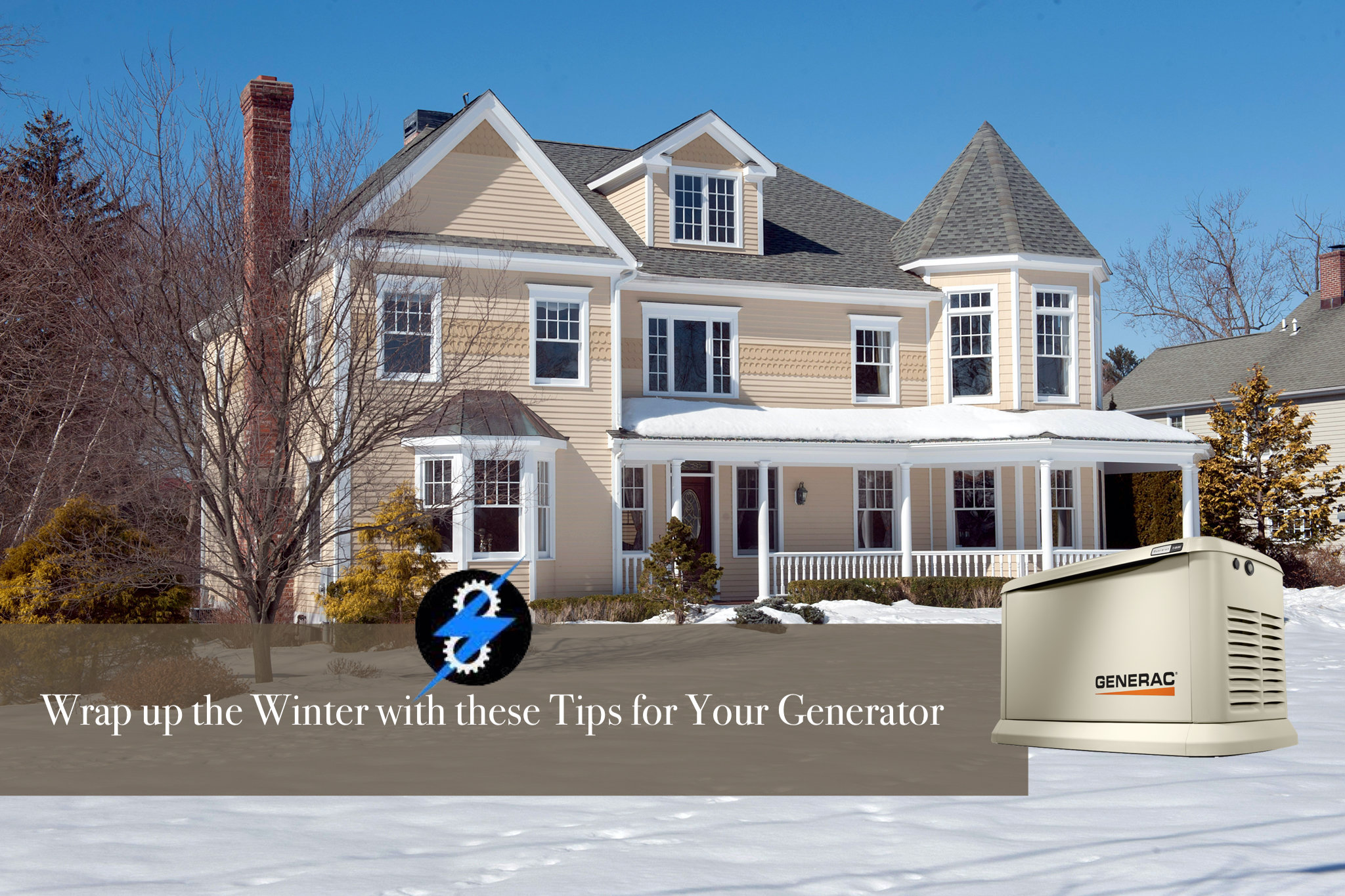 winter tips for your generator