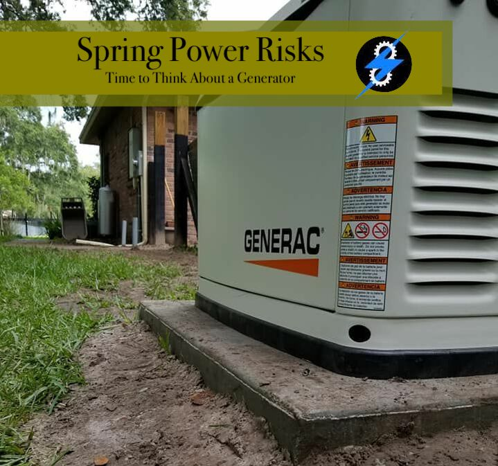 Top 5 Spring Power Risks: Generator